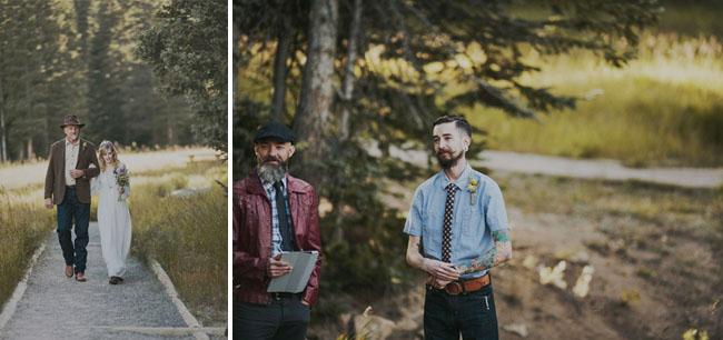 rocky mountain park wedding