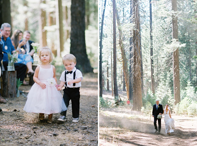 Laid-back Yosemite Wedding: Jami + Aaron