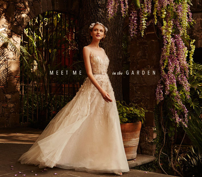 Meet Me in the Garden BHLDN dresses