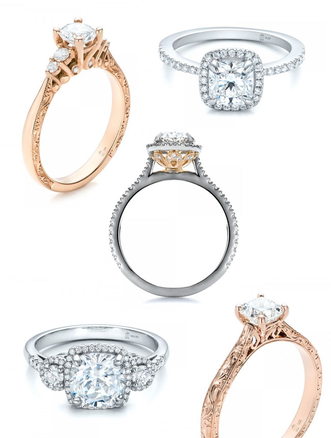 Joseph Jewelry unique engagement rings