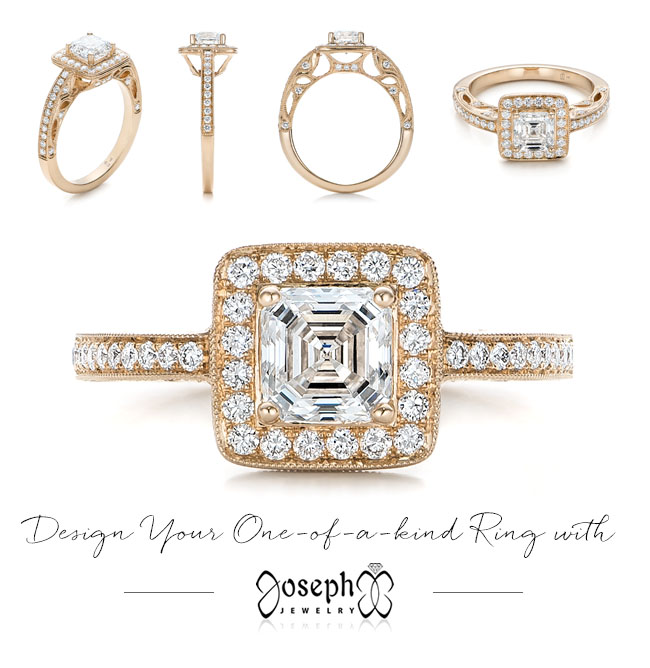 Joseph Jewelry custom engagement rings