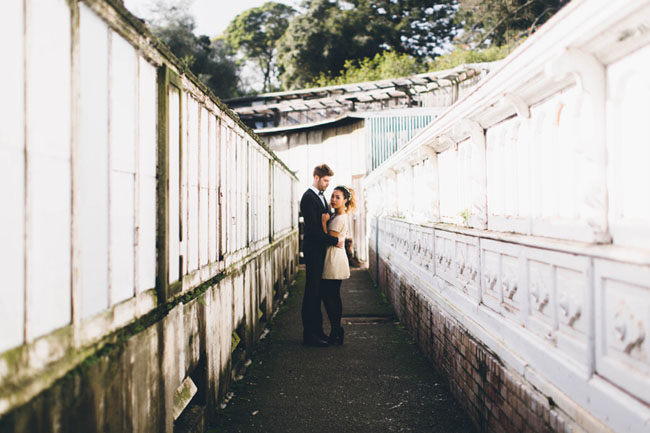 SF styled engagement