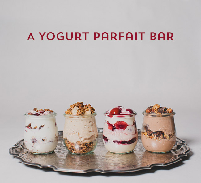 Yogurt Parfait Bar