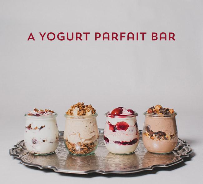 Yogurt Parfait Bar
