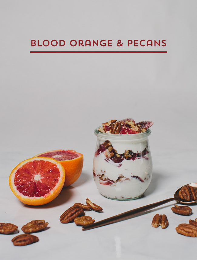 blood orange & pecans