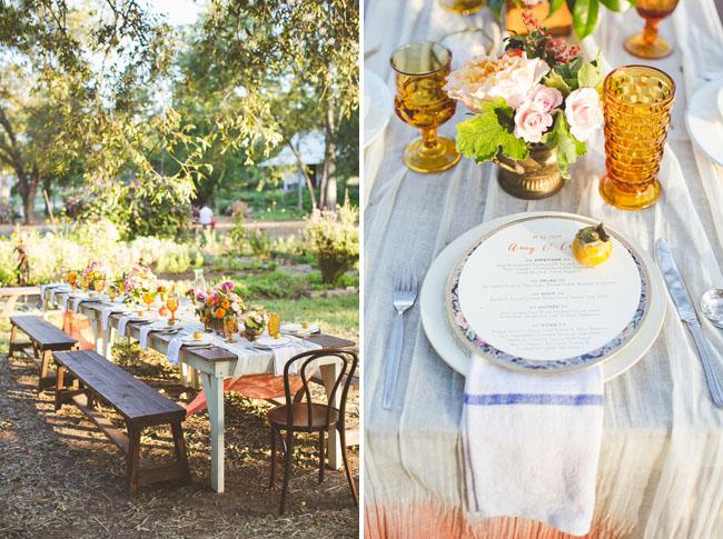 eclectic austin farm wedding craig