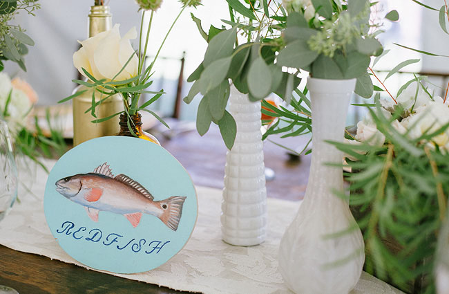 fish table number