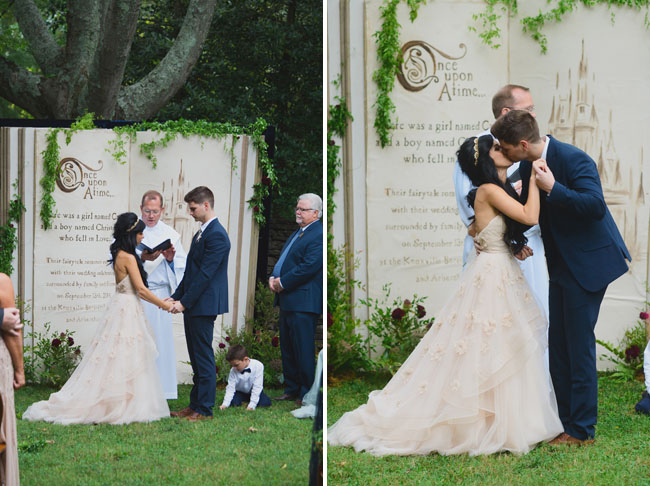 fairytale ceremony