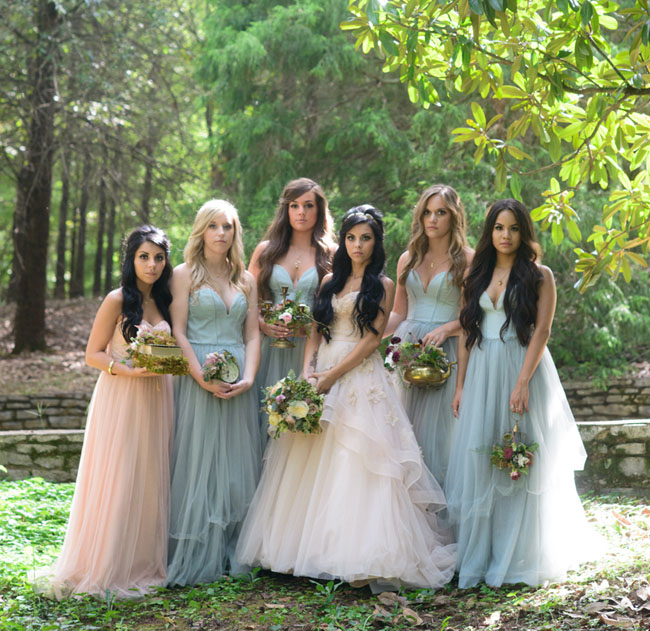 Fairytale-Inspired Wed...