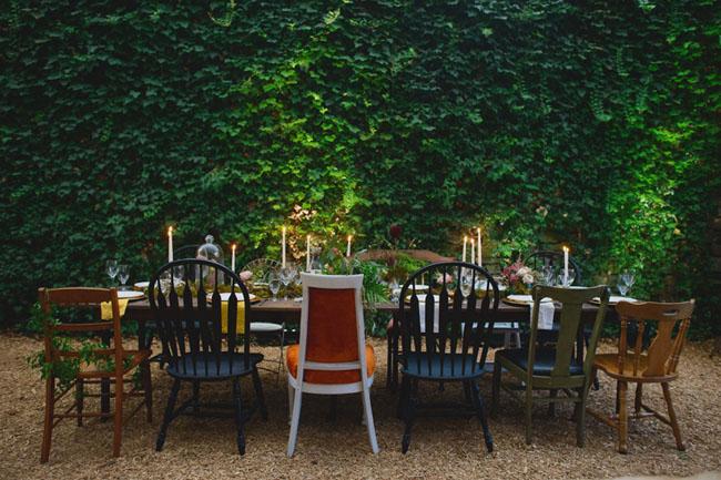 fairytale tablescape