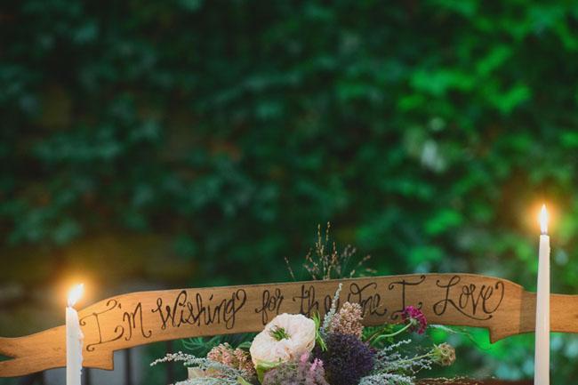 fairytale table decor