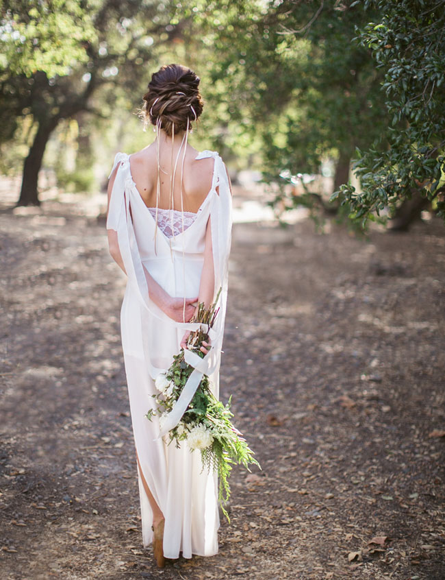 Secret Forest Elopement Inspiration - Green Wedding Shoes