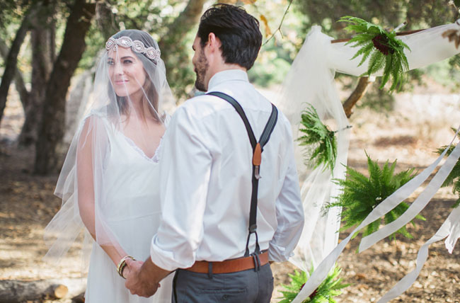 forest elopement inspiration
