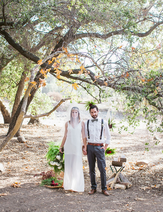 forest elopement inspiration