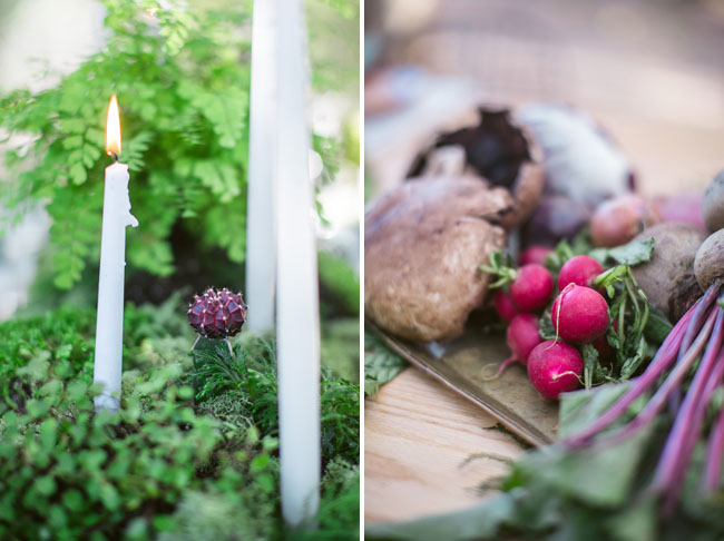 rustic forest elopement