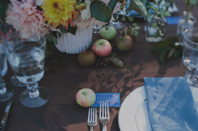 apple table accents