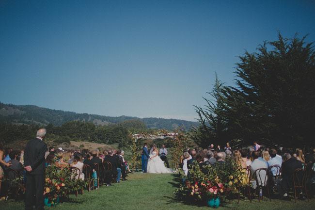 Costanoa Lodge ceremony