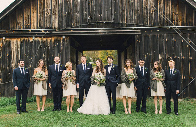 New York barn wedding