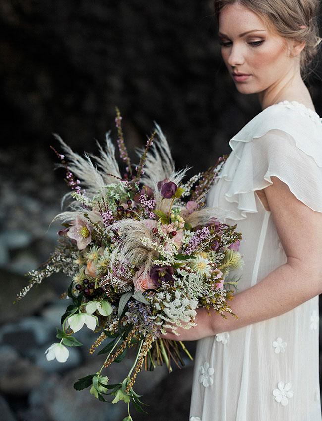 whimsical boho bouquet