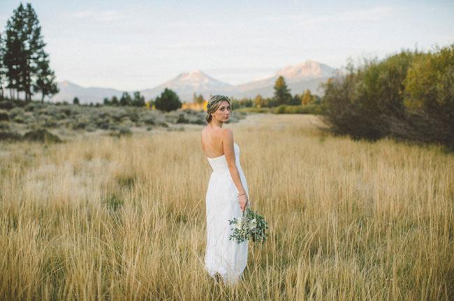 Donna Morgan wedding dress