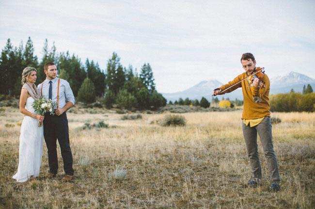 Oregon elopement
