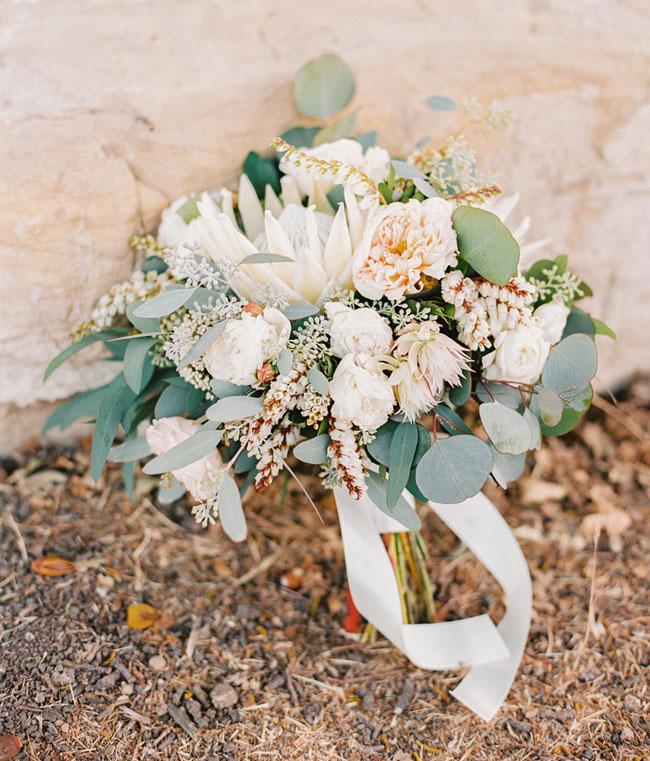 soft white bouquet