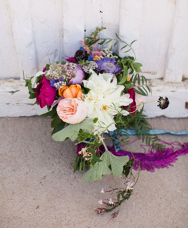 Leo Carrillo Ranch wedding bouquet