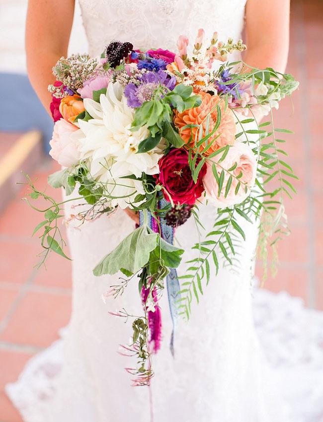 boho rustic bouquet