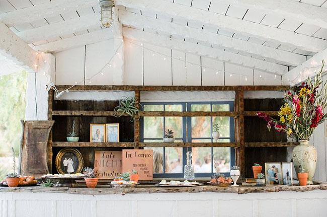 rustic decor wedding
