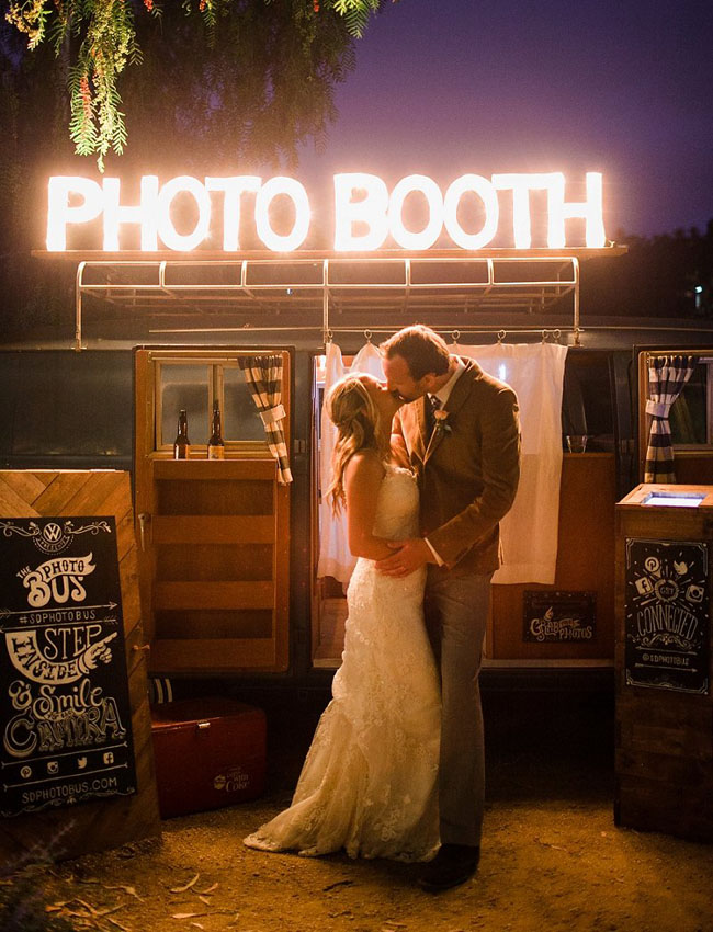 photo booth marquee sign