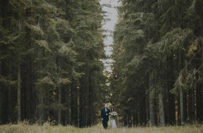 Sweden forest wedding