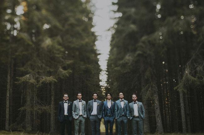 Swedish groomsmen