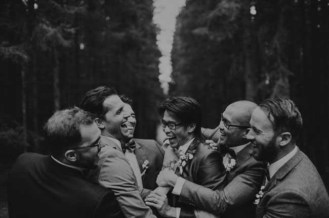Swedish groomsmen