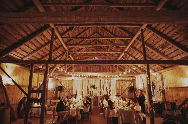 Sweden barn wedding