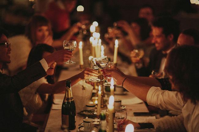 Sweden barn wedding