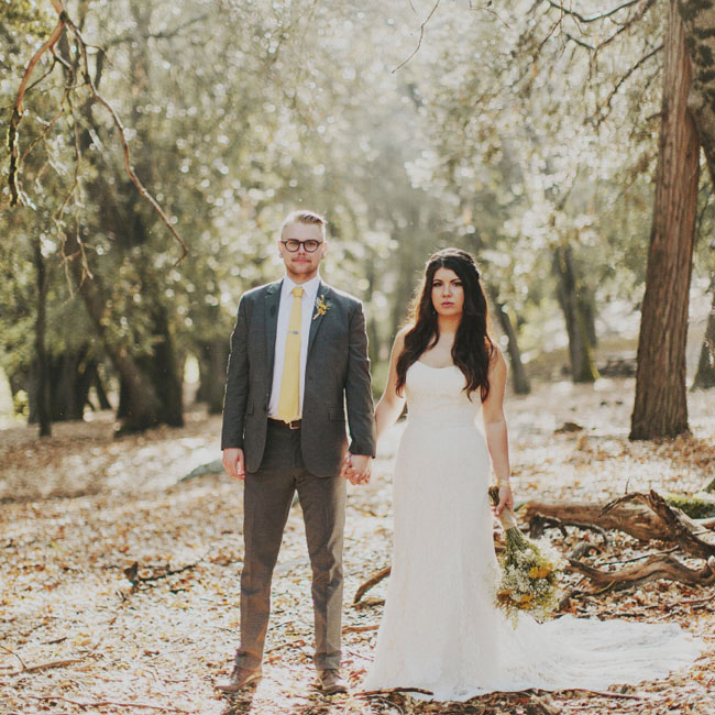 Woodland California wedding
