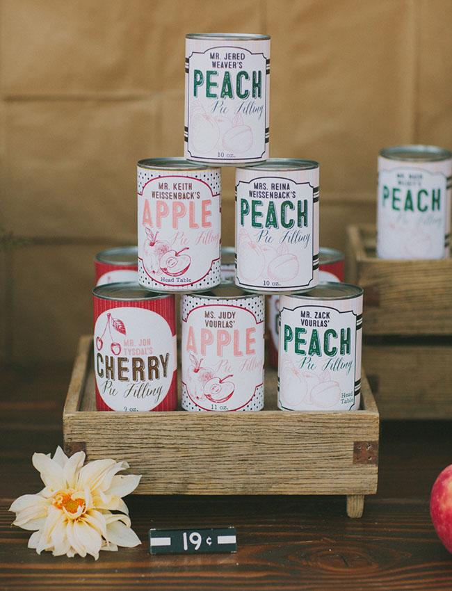 custom food cans