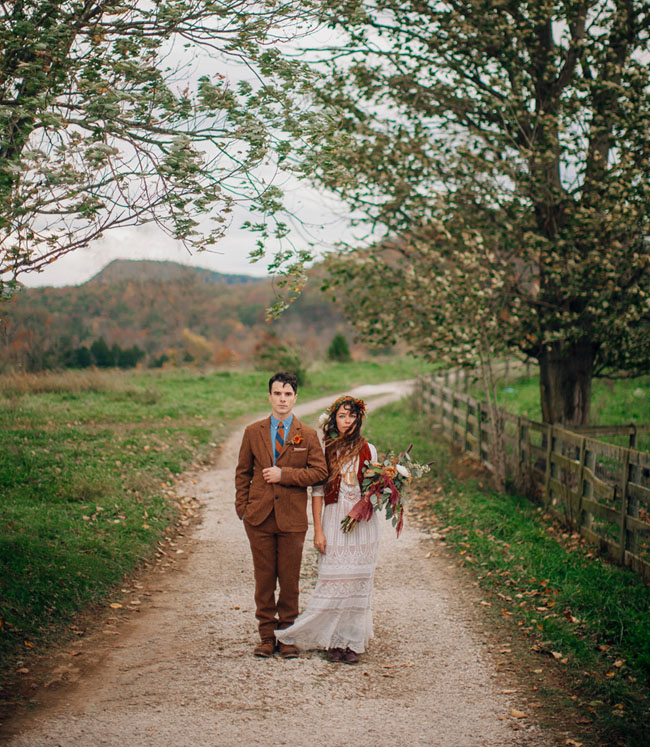 Southwest Virginia farm wedding