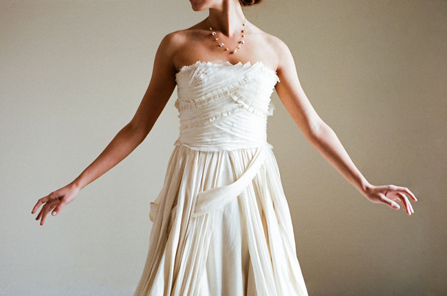 Lindee Daniel wedding dress