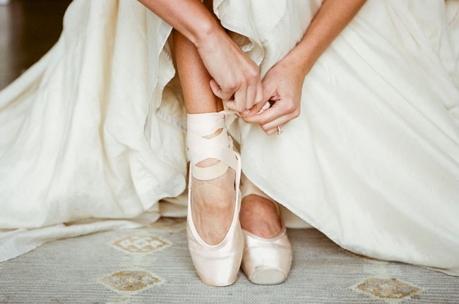 Ethereal Ballet Wedding Inspiration | Green Wedding Shoes ...