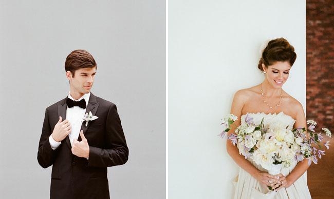 bow tie tux groom