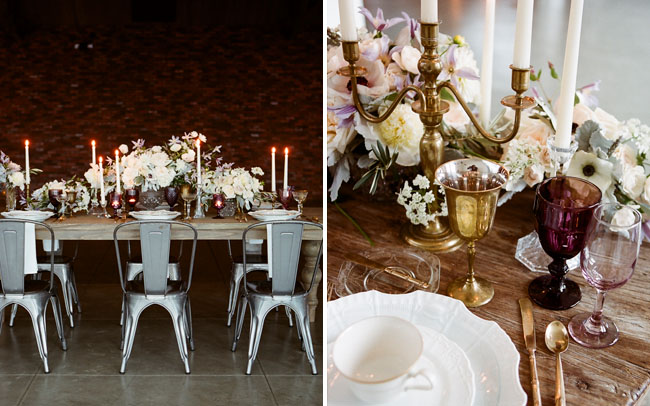 romantic ballet inspired tablescape