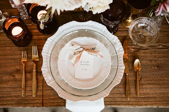 soft plate setting