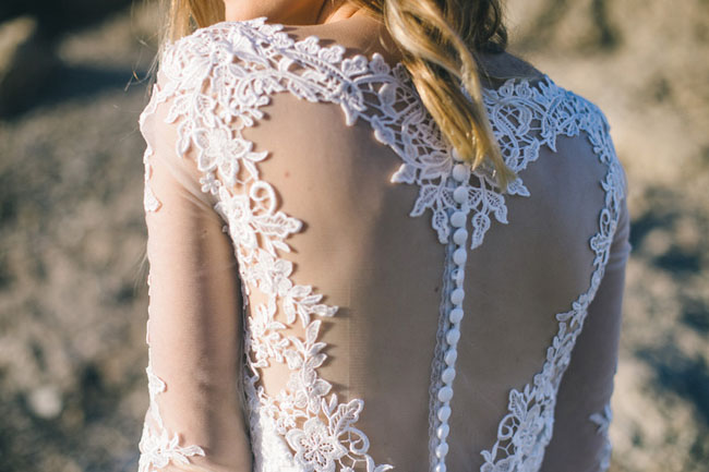 heart shaped back dress