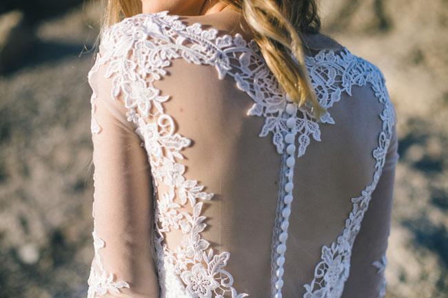 heart shaped back dress