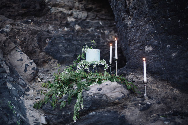 cave with mint cake