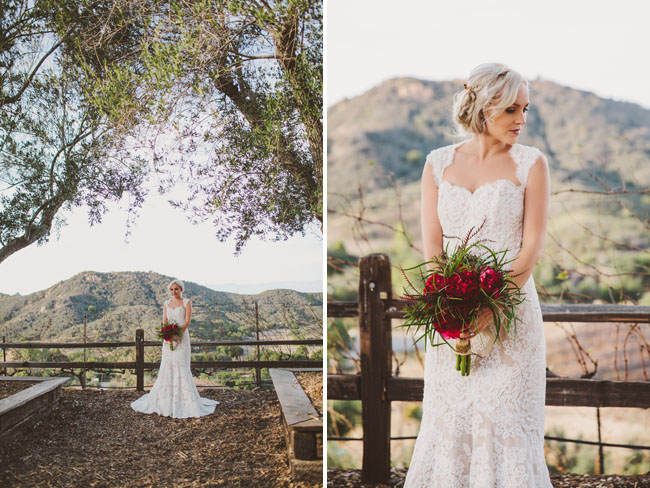 boho gypset lace bride