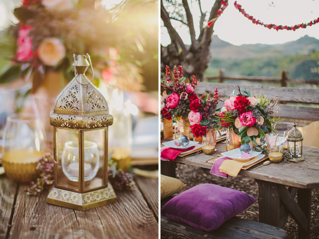 boho gypset tablescape