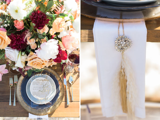 tassel napkin holder