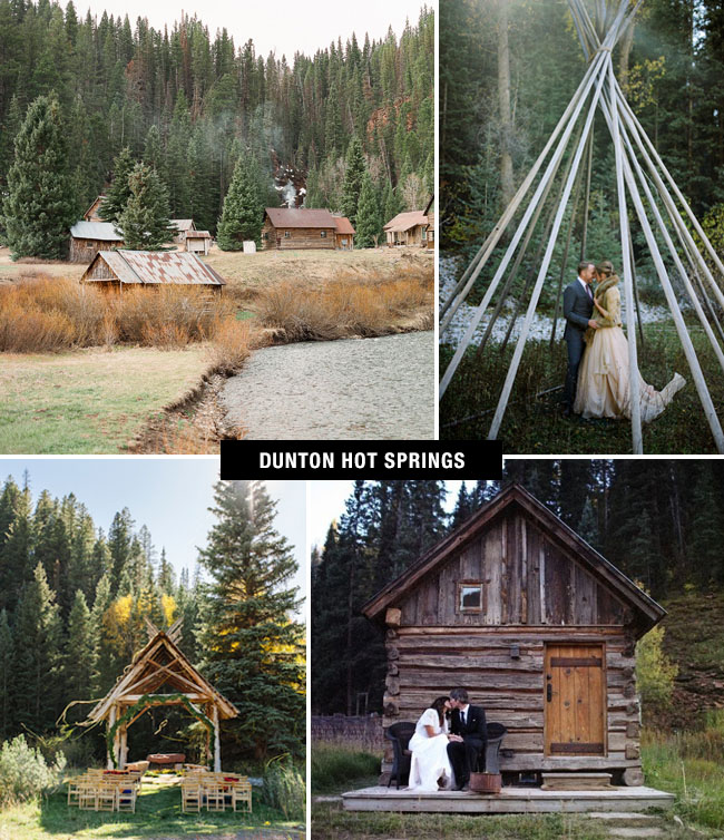 Dunton Hot Springs Wedding